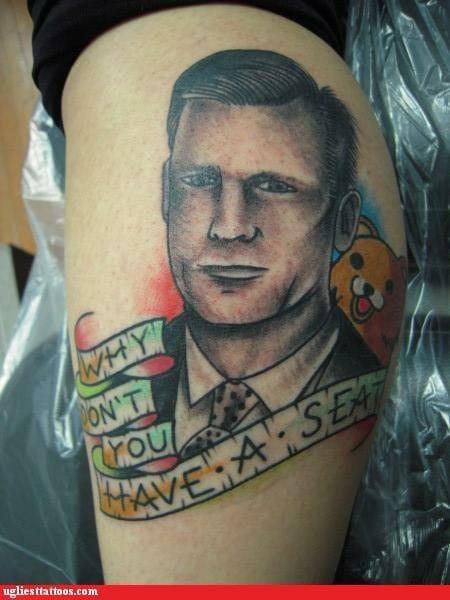 Chris Hansen Tattoo