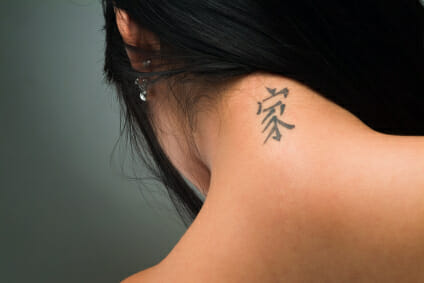 Chinese Character Tattoos