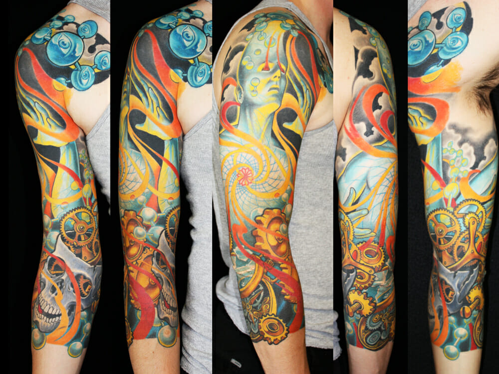 Expanding Man Arm Sleeve