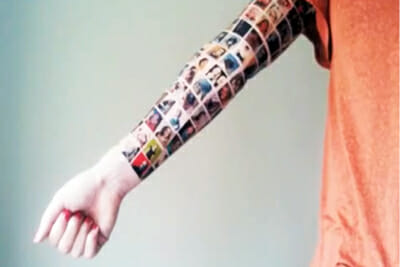 Facebook Tattoo Sleeve