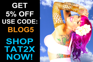 Tat2X Blog Store Coupon
