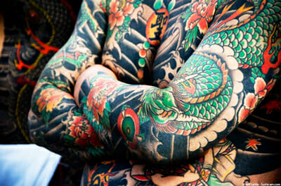 Tattoos Taboo in Japan